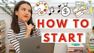 How to Start Your Creative Career | Ingrid Nilsen