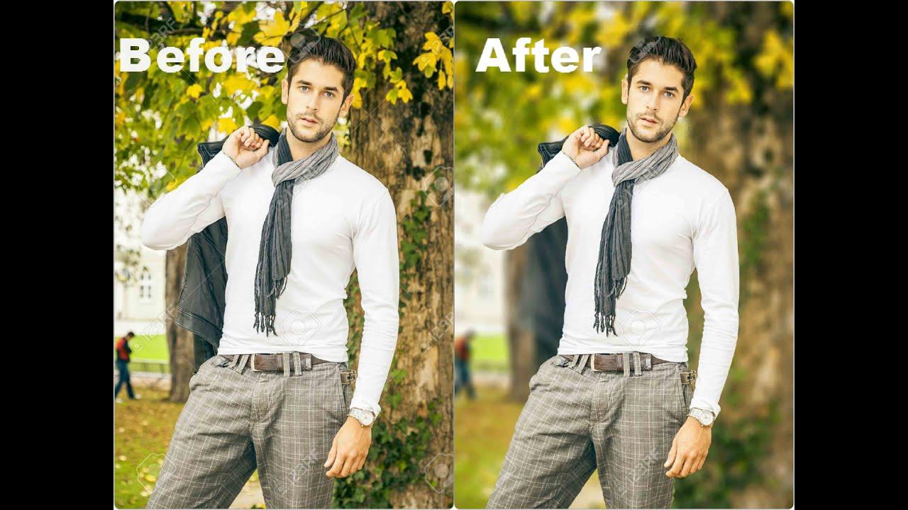 adobe photoshop cs5 tutorial blur background