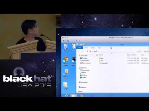 Black Hat USA 2013 - Smashing The Font Scaler Engine In Windows Kernel