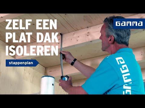 Garage Isoleren Prijs : Gamma plat dak van binnenuit isoleren youtube