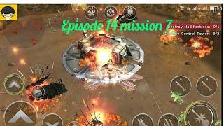 Episode 14 mission 7, Hometown Gunship battle HD gameplay