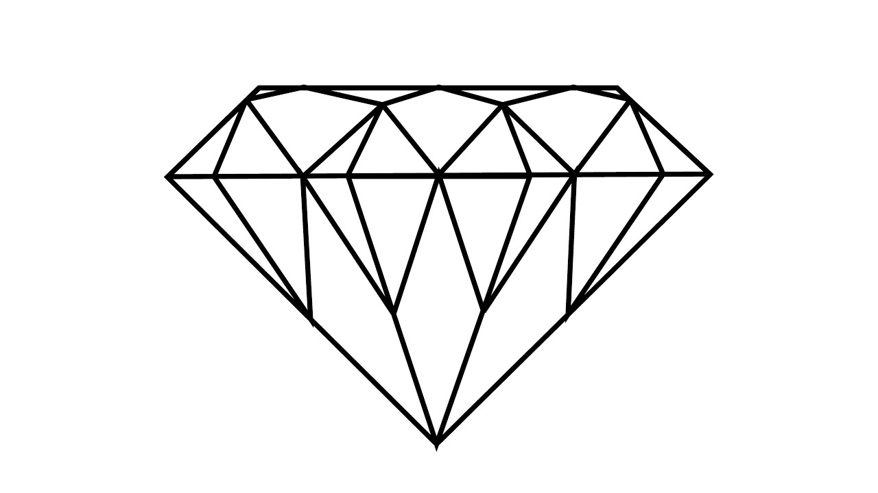 It's just a picture of Amazing Drawing Of Diamonds