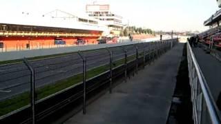 Pretemporada F1 2011 Circuito de Cataluña Montmeló Parte-1