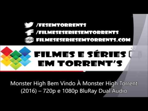 Monster High Bem Vindo À Monster High Torrent 2016 – 720p e 1080p BluRay Dual Áudio