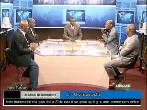 Le débat du dimanche du 23 Novembre 2014 - BURKINA FASO : DUO KAFANDO - ZIDA