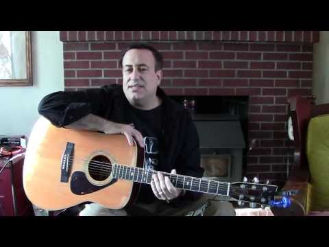 Playing Guitar Notes From a Musical Staff - Richard Rossi