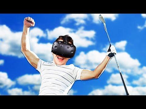 Virtual Reality Minigolf! - Cloudlands: VR Minigolf Gameplay - HTC Vive VR