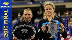 Kim Clijsters vs Vera Zvonareva Full Match   US Open 2010 Final