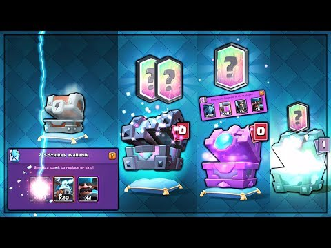 OPENING EVERY NEW UPDATE CHESTS! | Clash Royale | BEST KINGS