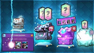 OPENING EVERY NEW UPDATE CHESTS! | Clash Royale | BEST KINGS CHEST, FORTUNE CHEST & MORE OPENING
