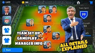 How To Change Team Formation In Pes 2019 Mobile