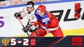 28.12.2017г. ЧМ U-20. Россия - Швейцария - 5:2. Обзор матча