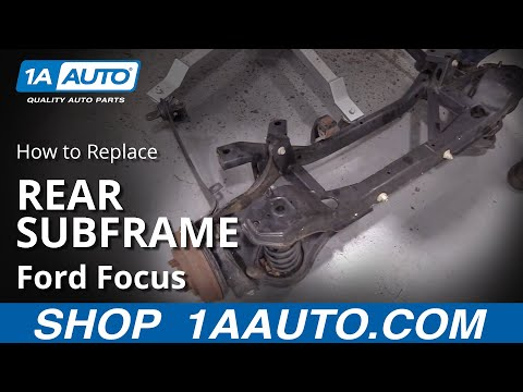 How to Replace Rear Subframe Assembly 00-08 Ford Focus