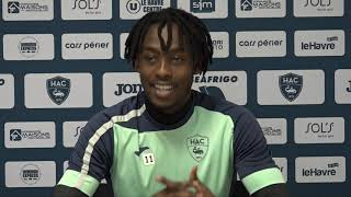 VIDEO: Avant Niort - HAC, interview de Tino Kadewere