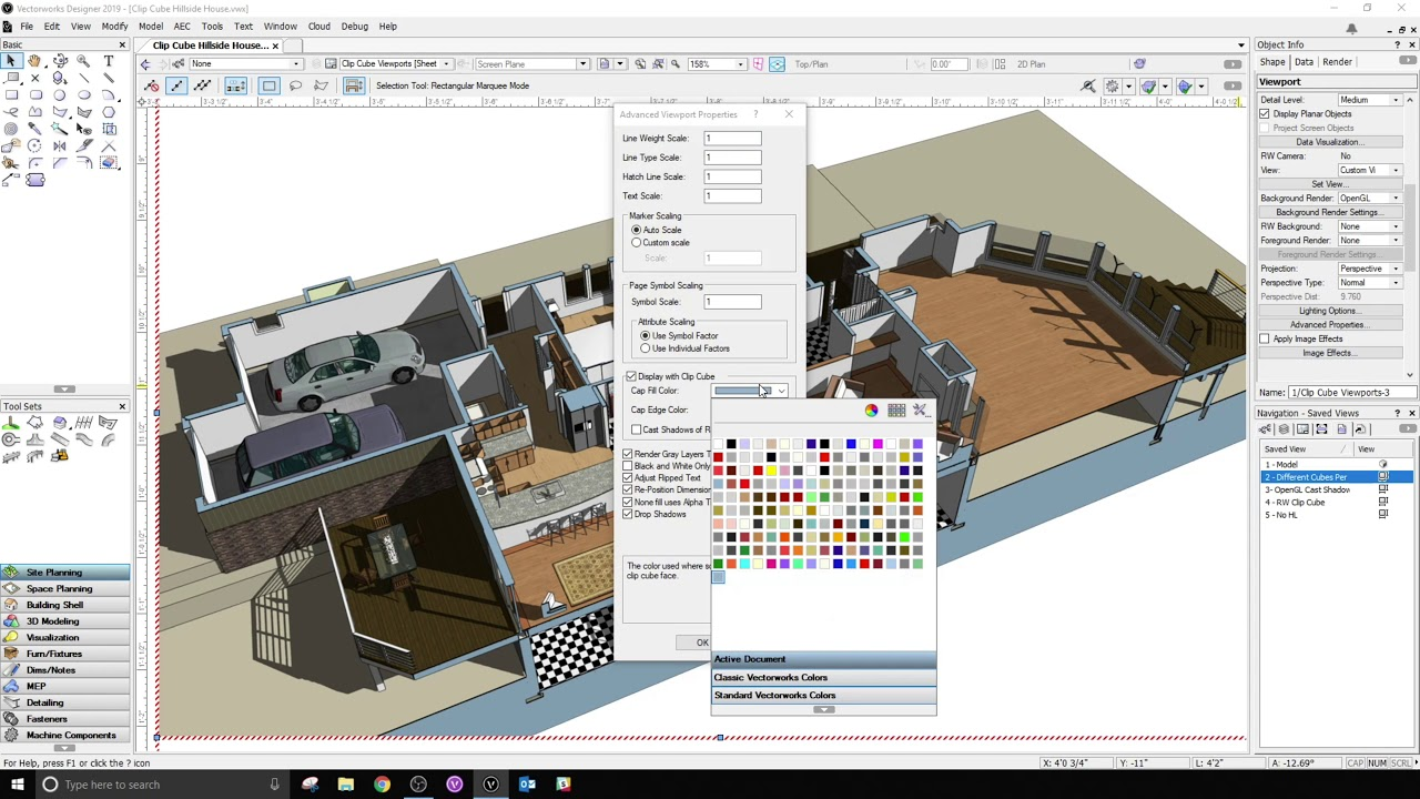 Vectorworks 2019 Focuses on Usability and Performance