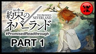 The Promised Neverland Readthrough (Manga Chapters 1-16) | #PromisedReadthrough Part 1