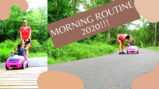 SUMMER MORNING ROUTINE 2020//WITH A TODDLER!!---(SINGLE MOM VLOGS)