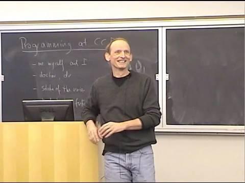 Matthias Felleisen: Programming at Northeastern University