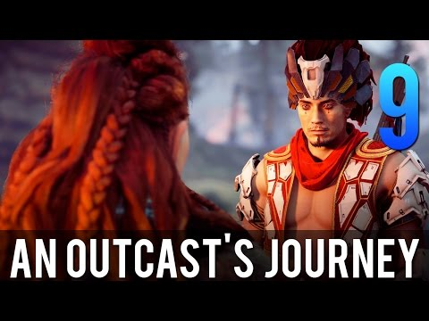 [9] An Outcast's Journey (Let's Play Horizon Zero Dawn PS4 Pro w/ GaLm)