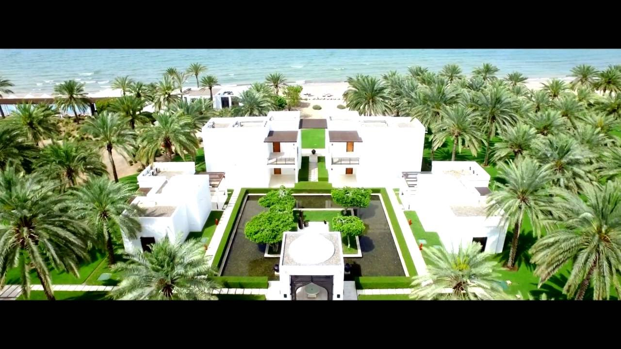 The chedi muscat oman luxury hotel video youtube for Hotel luxury oman