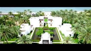 The Chedi Muscat - Oman - Luxury Hotel Video(Where the majestic Al Hajar Mountains meet their luminous reflection in the serene waters of the Gulf of Oman, The Chedi Muscat rises amidst an elegantly ..., 2016-07-08T13:23:47.000Z)