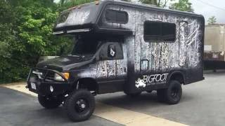 Bigfoot 4x4 Camper Ujoint Offroad