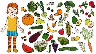 Projekt Ernte, Obst und Gemüse Kindergarten und Kita Ideen