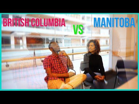 Life in Vancouver vs Manitoba Winnipeg in Canada