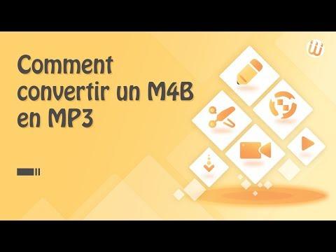 Comment convertir M4B en MP3