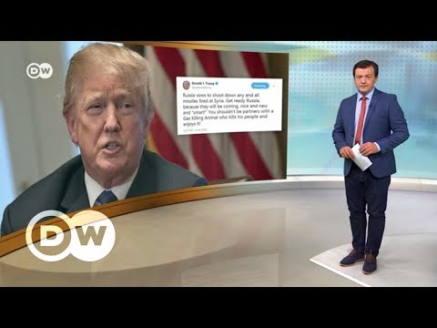 Как Трамп грозил России своими 'красивыми и умными' ракетами – DW Новости (11.04.2018) - Видео с YouTube на компьютер, мобильный, android, ios