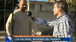 Un puente insólito en González Catán - Telefe Noticias