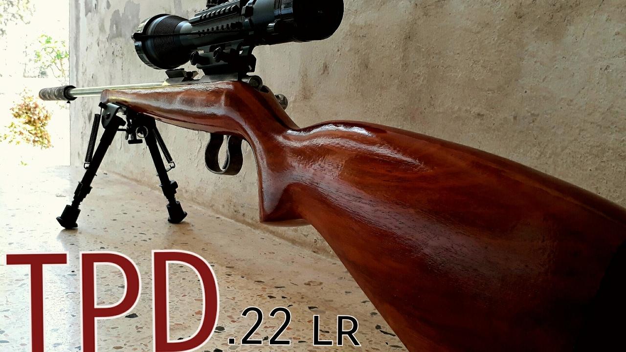 ปืนลูกกรด .22 lr.ไทยประดิษฐ์  ไทยทำได้ไม่แพ้ต่างประเทศ