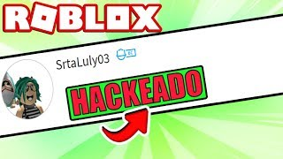 I HACKED ROBLOX'S ACCOUNT AND *THIS WAS MY REACTION* 😱