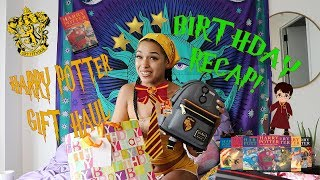 PRINCESS NOKIA HARRY POTTER GIFT HAUL & BIRTHDAY RECAP