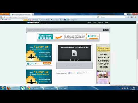 Macromedia Flash MX/Basic Tutorial from YouTube · Duration:  5 minutes 16 seconds