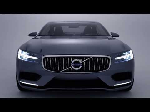 Le Volvo Concept Coupé - la P1800 du futur - est une automobile à l'élégance sereine grace à la nouvelle architecture évolutive Volvo (IMAGE/VIDEO)