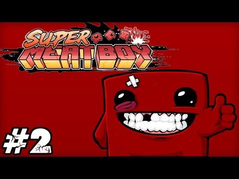 [LUŹNE GRANIE] Super Meat Boy #2 - The Forest (Dark) | Niby to samo, ale trudniej!