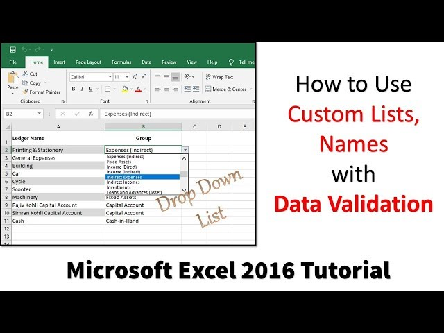 Microsoft Excel 2016 Tutorial