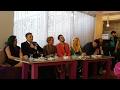 Tunzale Agayeva, Haci Nuran, Elza Seyidcahan Atv jurnaliste destek