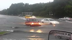 Tropical storm Debby- Spring Hill, FL: continuous traffic and 2 fails LOL