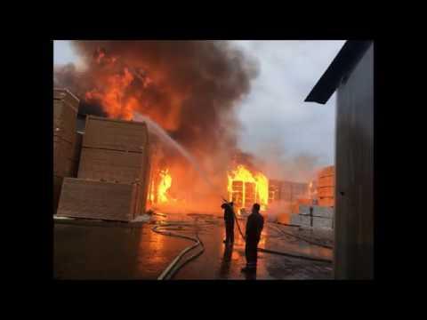 Пожар на заводе д.Чудцы 🔥 1 04 2018г #Без жертв