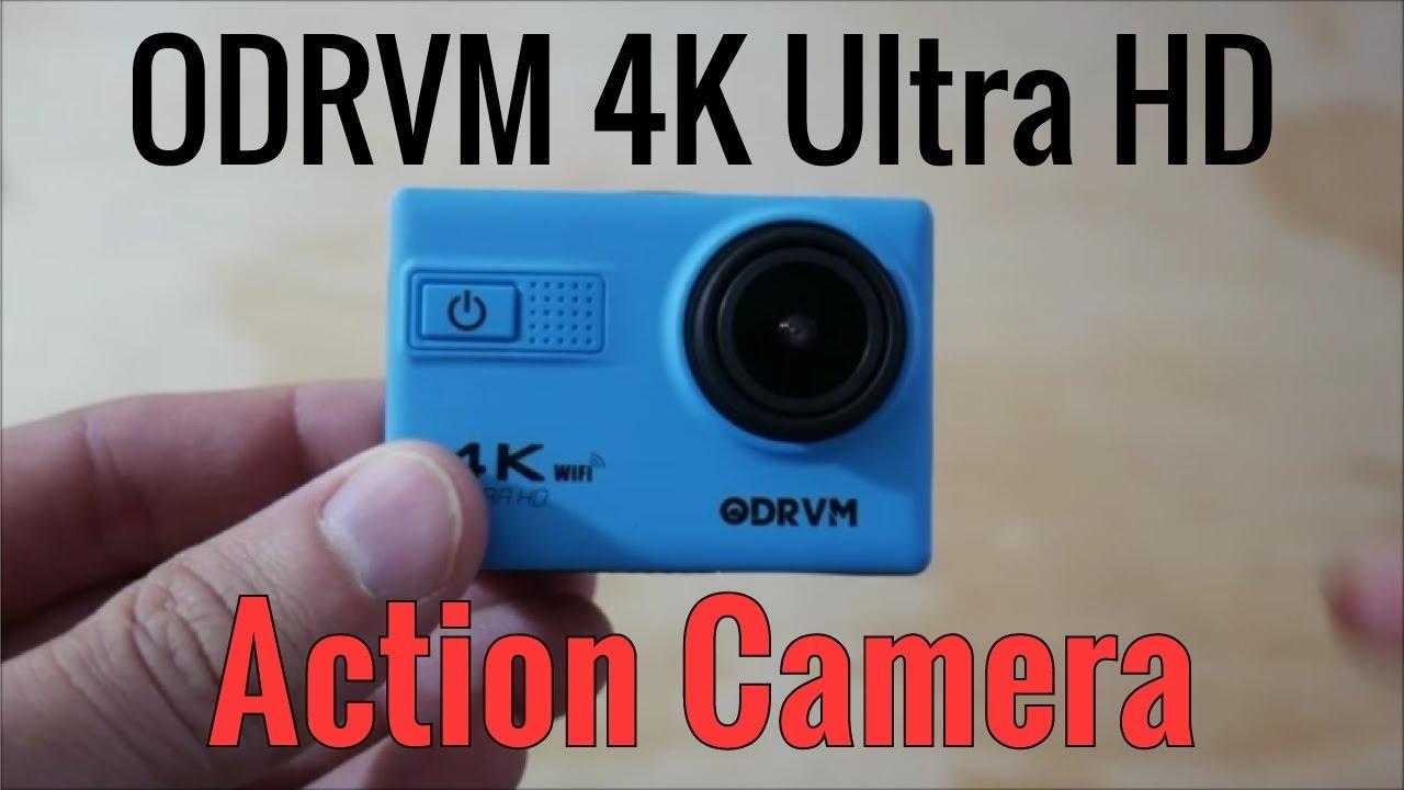 odrvm 4k action camera manual