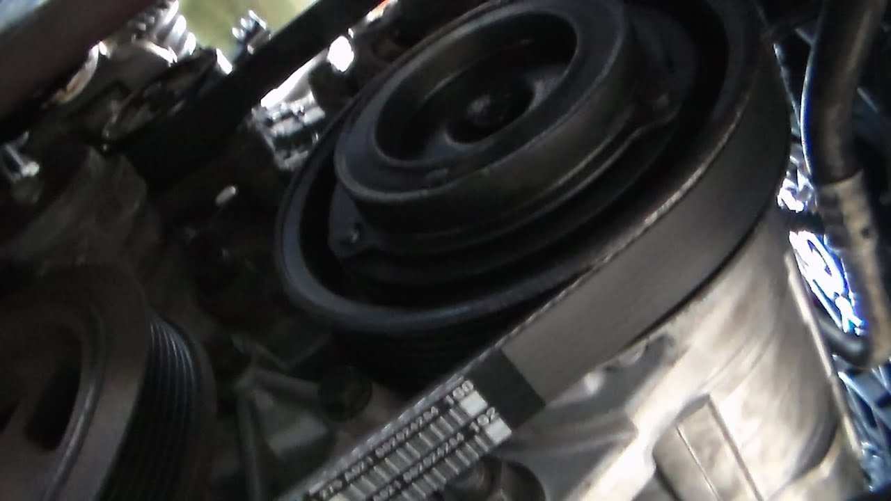 hight resolution of how to install serpentine belt 2005 dodge grand caravan