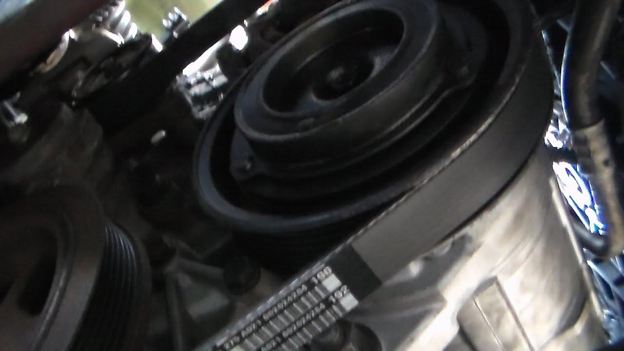 How to install serpentine belt 2005 Dodge grand caravan  YouTube