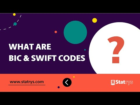 What Are BIC And SWIFT Codes? | Statrys