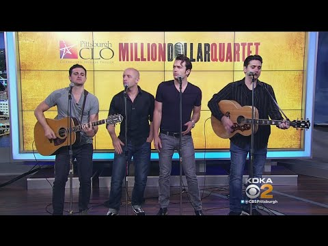 'Million Dollar Quartet' Stars Performs Live (Part 1)