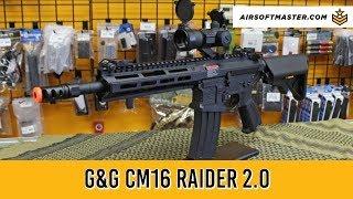 G&G Combat Machine CM16 Raider 2.0 Airsoft Gun