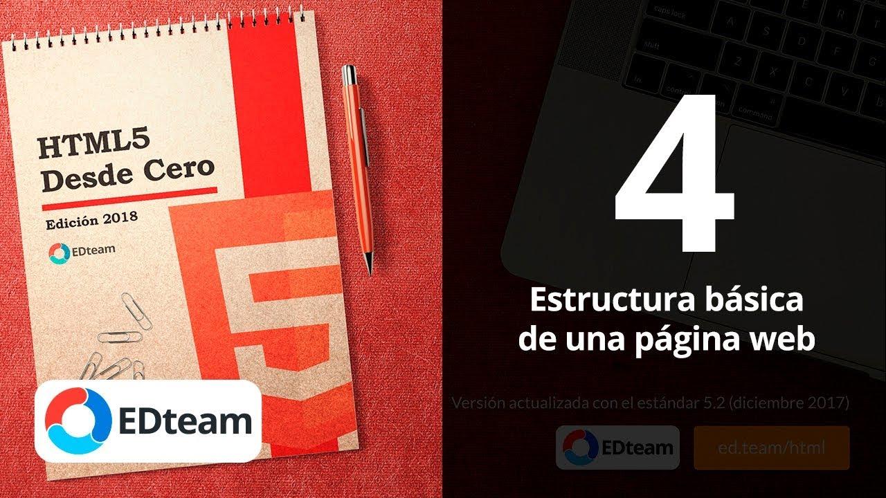 Estructura Básica De Una Página Web Curso Html5 Desde Cero 4