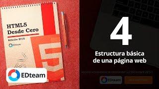 Estructura básica de una página web - Curso HTML5 Desde Cero  (4)