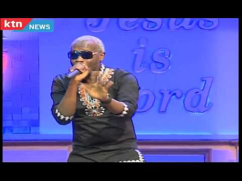 "Gospel singer Daddy Owen performs his latest song ""Vanity"" at JCC Church service"